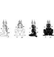 Thai yantra vector image