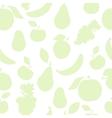 Pastel color fruit pattern vector image