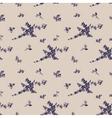 vintage seamless flower pattern gzhel vector image