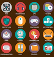 Digital devices icon set Digital devices icon set vector image