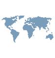 stylised world map vector image