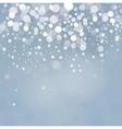 Lights on blue background vector image