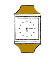 time clock accessory vector image