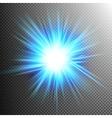 Light Effect Transparent Flare Lights EPS 10 vector image