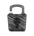 lock icon image vector image