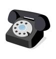 icon phone vector image