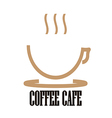 Logo Coffee Cafe vector image