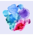 watercolor background set for textures and vector image