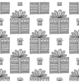 gifts ornamental boho seamless pattern vector image