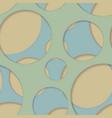 round seamless pattern of random circles vector image