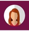 People profile graphic vector image