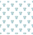 Striped baseball shirt pattern cartoon style vector image