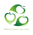 Natural product icon vector image