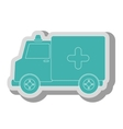 Medical healthcare theme design icon vector image