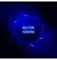 Light frame Futuristic technology style halftone vector image