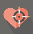 Hearth attack by cigarettes vector image