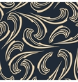 Abstract seamless background vintage pattern vector image