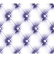 buttoned leather pattern vector image vector image
