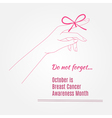 Breast Cancer Awareness Background elements and vector image