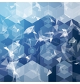 business hexagonal background Business vector image