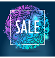 shiny glowing sale vector image