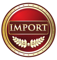 Import Red Label vector image