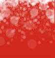 Merry Christmas Abstract Background Snowflakes vector image