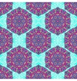 Seamless background with abstract ethnic pattern vector image vector image