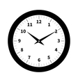 Old clock isolated vector image vector image