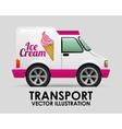transport vehicle vector image