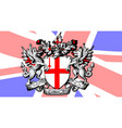 city of london crest vector image