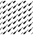 Seamless pattern background of screw driver vector image vector image
