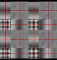 glen plaid pattern vector image