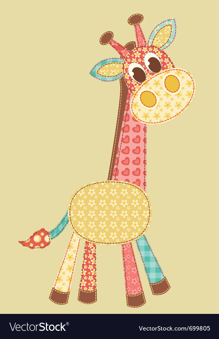 Application giraffe vector