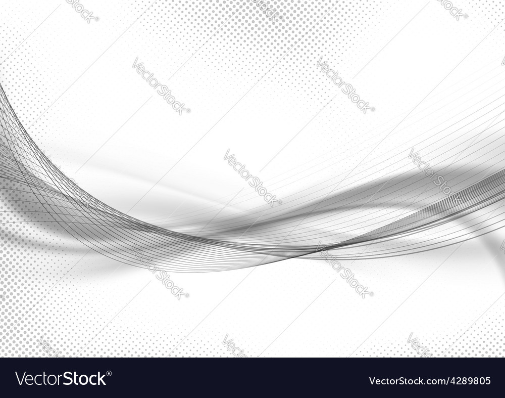 Halftone dot pattern swoosh layout abstract vector
