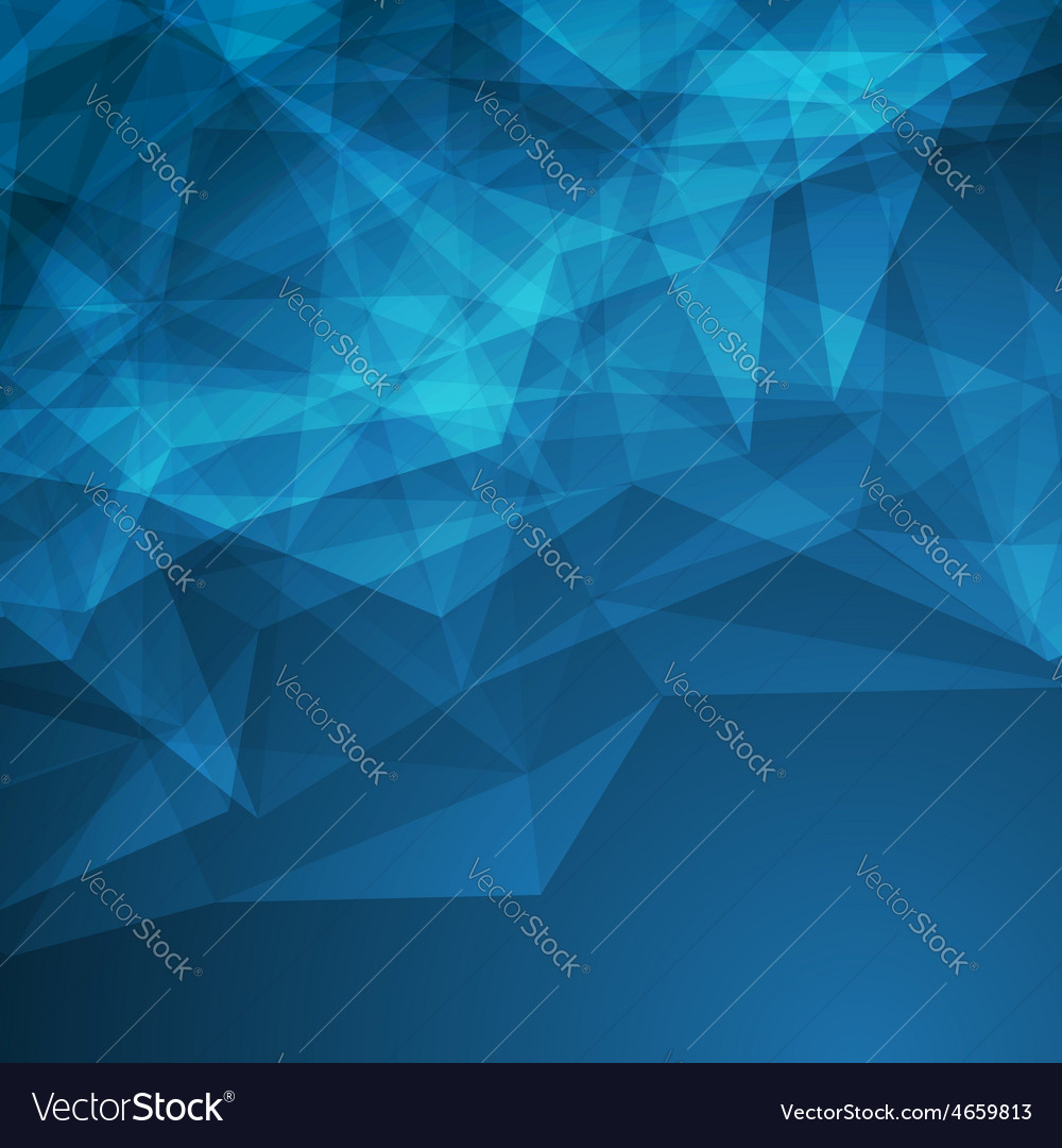 Dark modern abstract crystal background vector