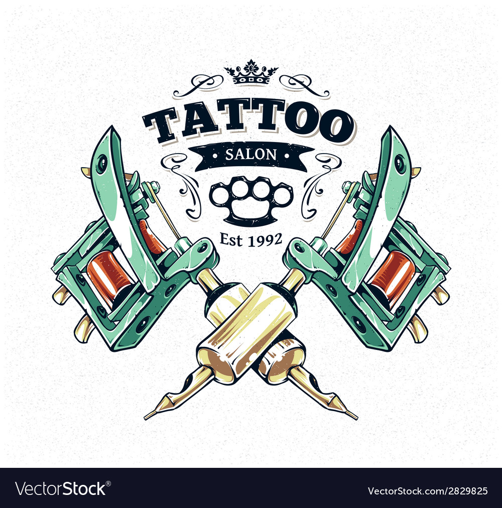 Tattoo print 3 vector
