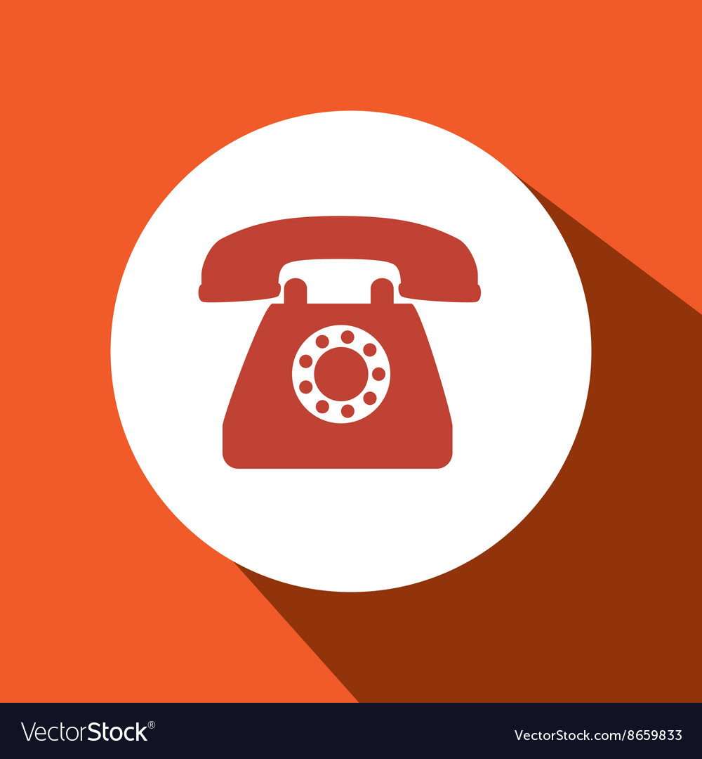 Telephone icon design vector
