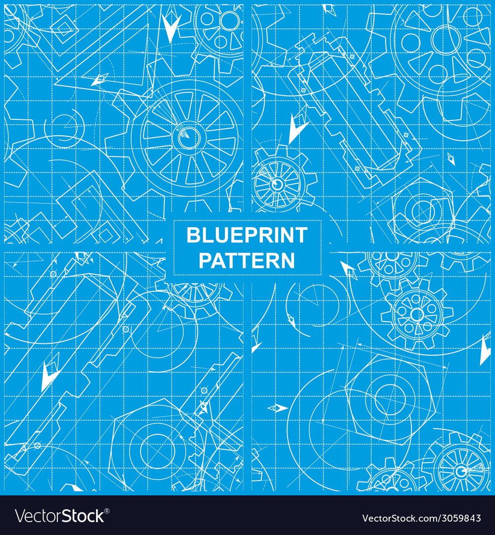 Blueprint pattern vector