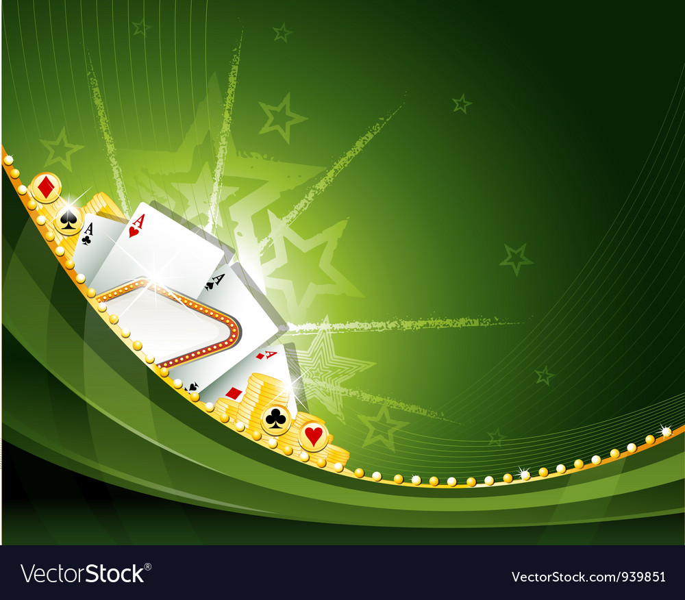 Casino cambling background elements vector