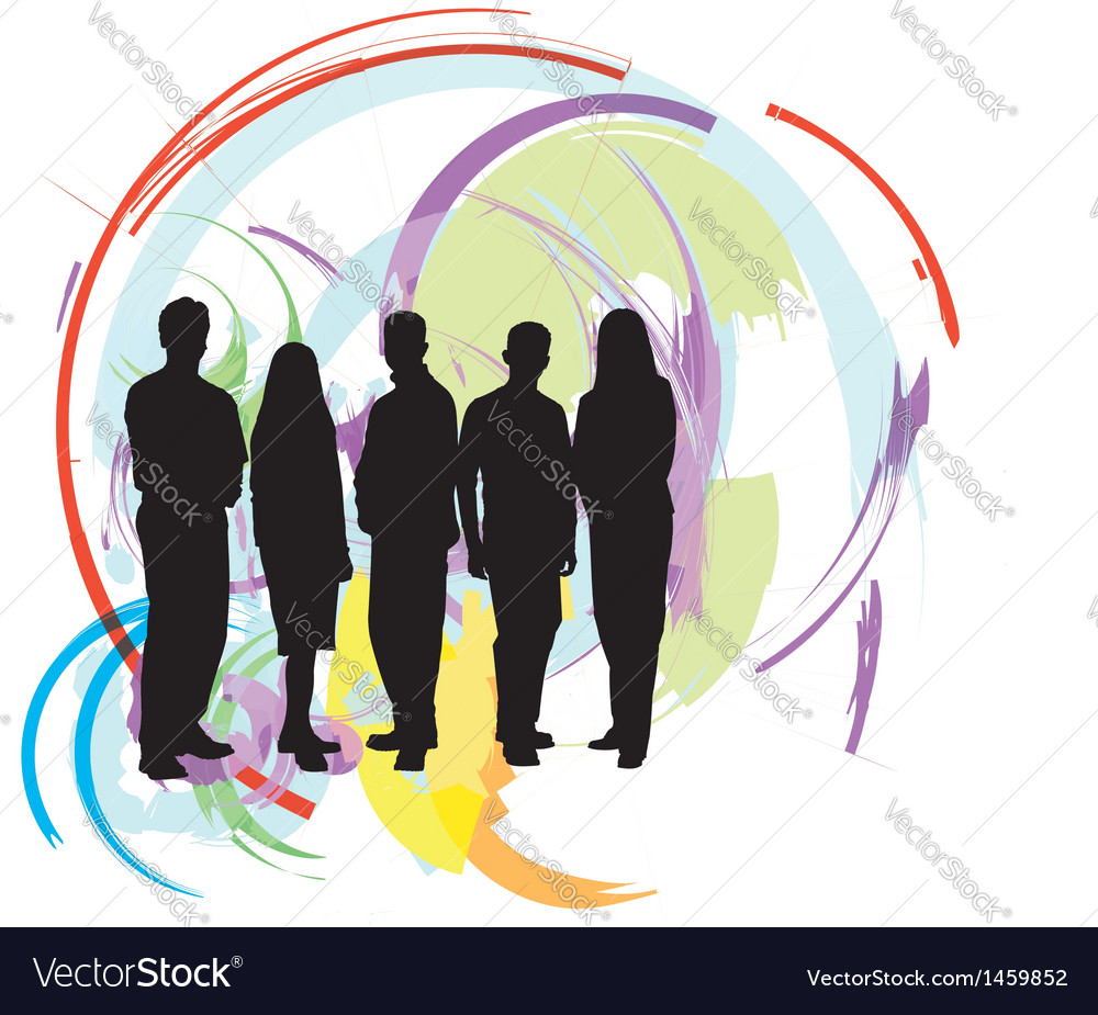 Businesspeople vector