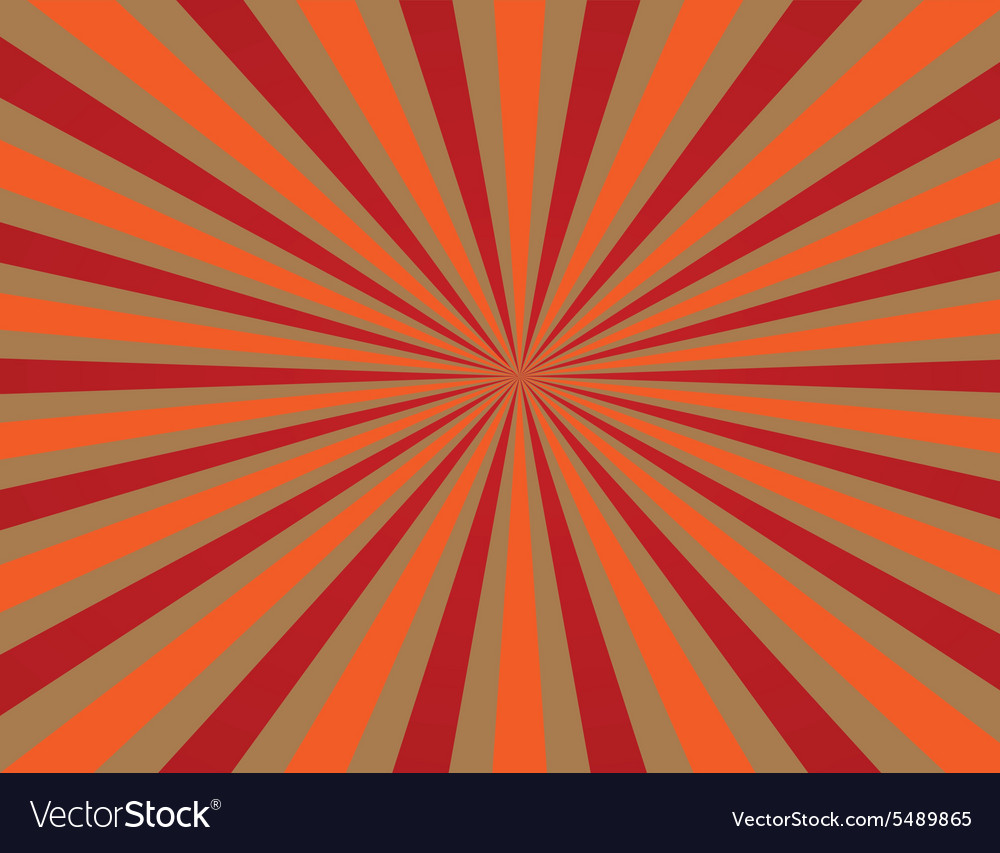Striped backgrounds with red and orange str vector