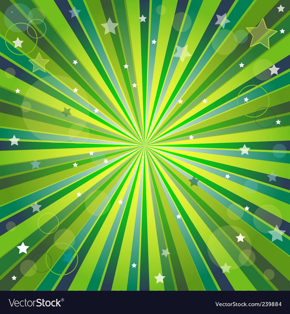 Abstract background with rays vector
