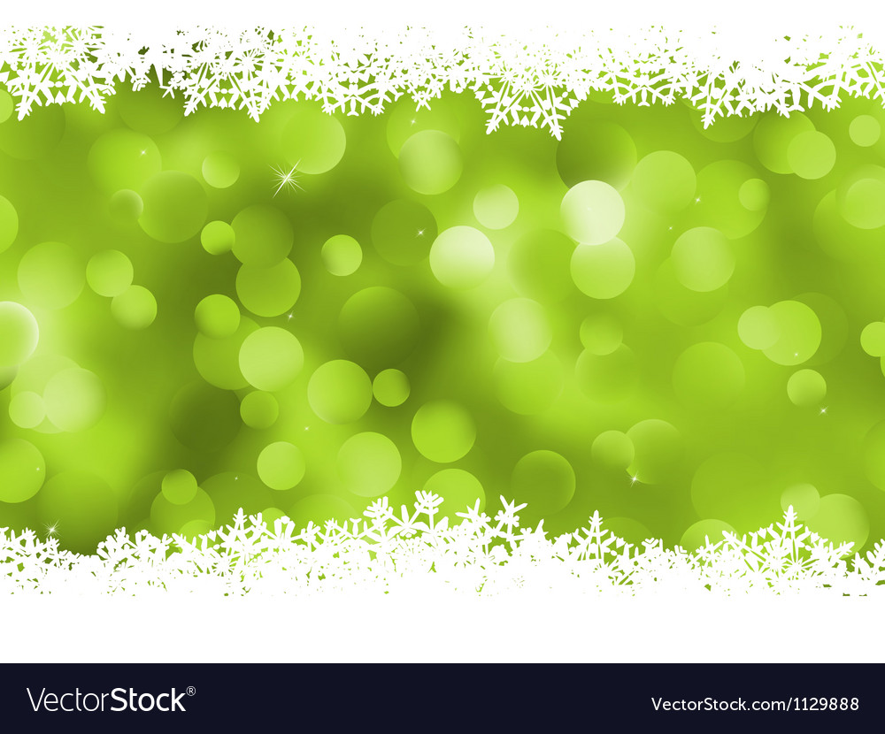 Background green magic lights bokeh eps 8 vector