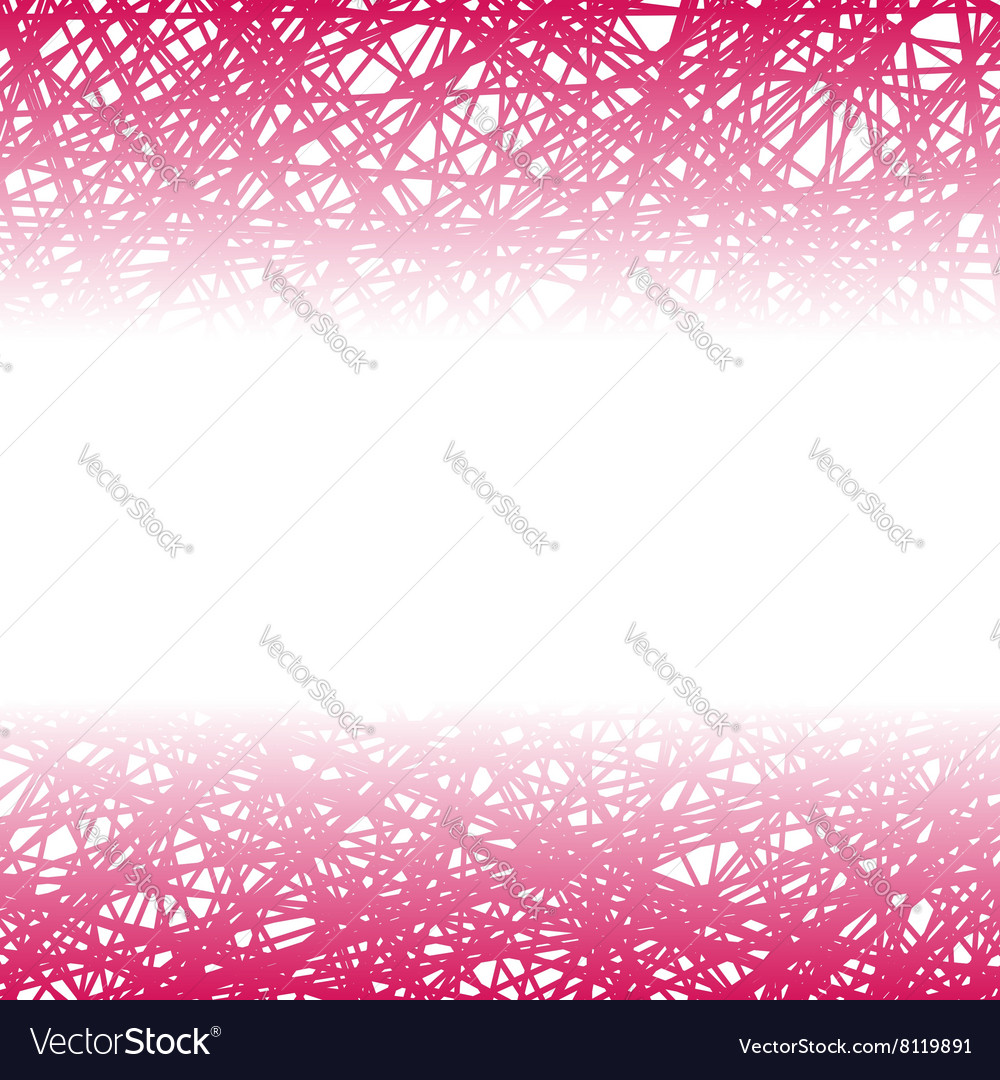 Abstract pink line background vector