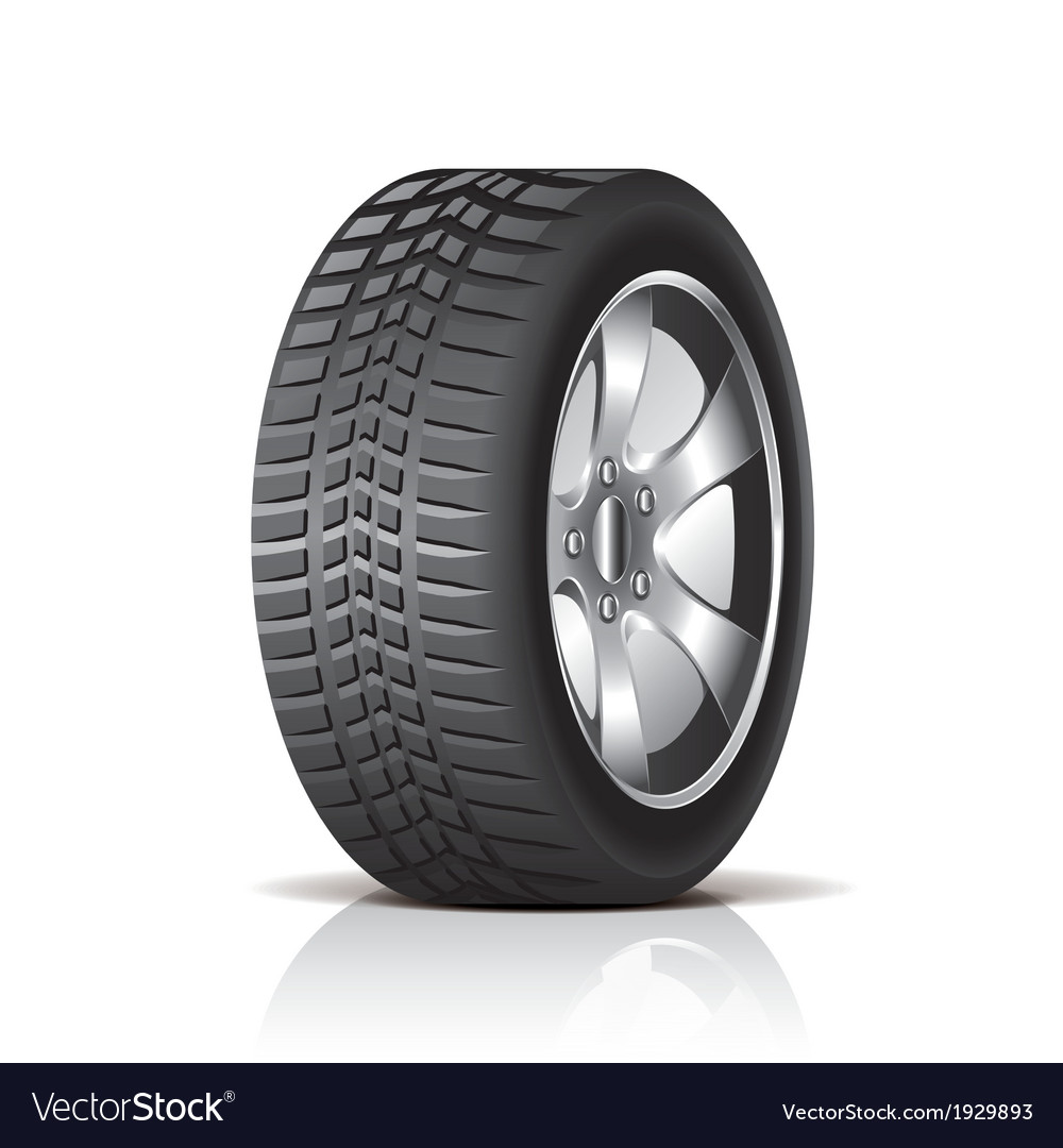 Object tire side vector