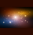 festive blur gold space background vector image