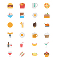 Food Flat Icons 1 vector image