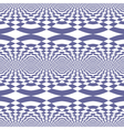 Seamless fancy op art pattern vector image vector image
