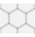 Hexagonal abstract texture as background vector image